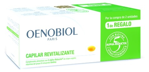 Oenobiol Triplo Capilar Revitalizante 180 cápsulas