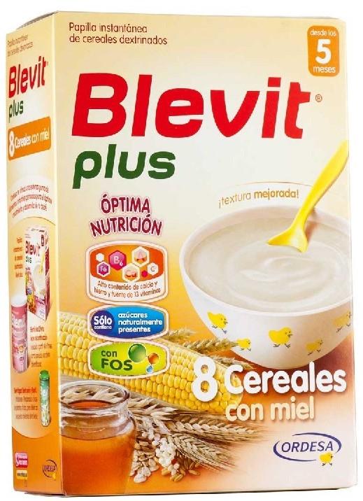 Ordesa Blevit Plus 8 Cereales con Miel 300gr