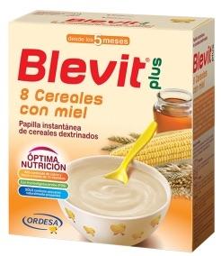 Ordesa Blevit Plus 8 Cereales con Miel 600gr