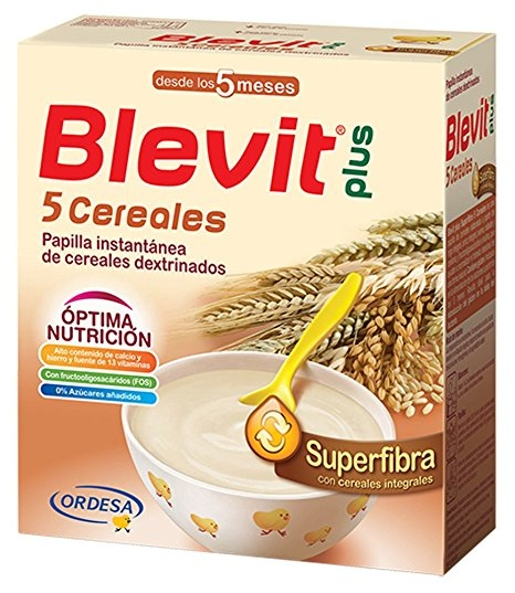 Ordesa Blevit Plus Superfibra 5 Cereales 600gr