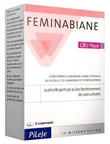 Pileje Feminabiane CBU Flash 6 comprimidos