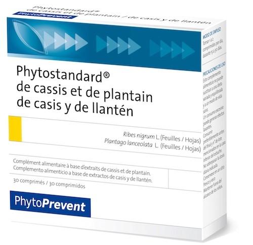 Pileje Phytostandard Casis - Llantén 30 comprimidos