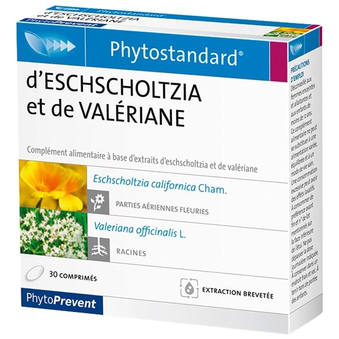 Pileje Phytostandard Eschscholtzia - Valeriana 30 comprimidos