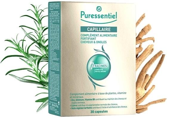 Puressentiel Anticaída Cabello y Uñas 60 cápsulas