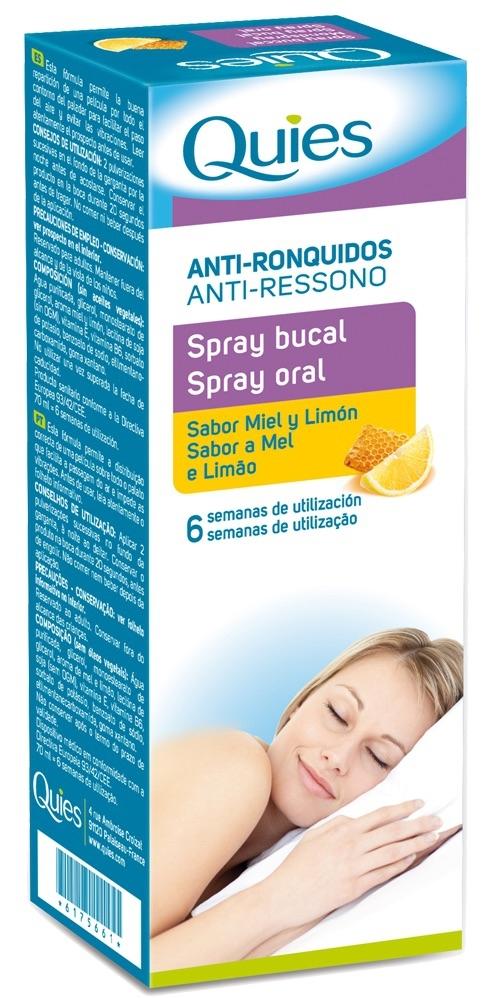 Quies Antironquidos Spray bucal 70ml
