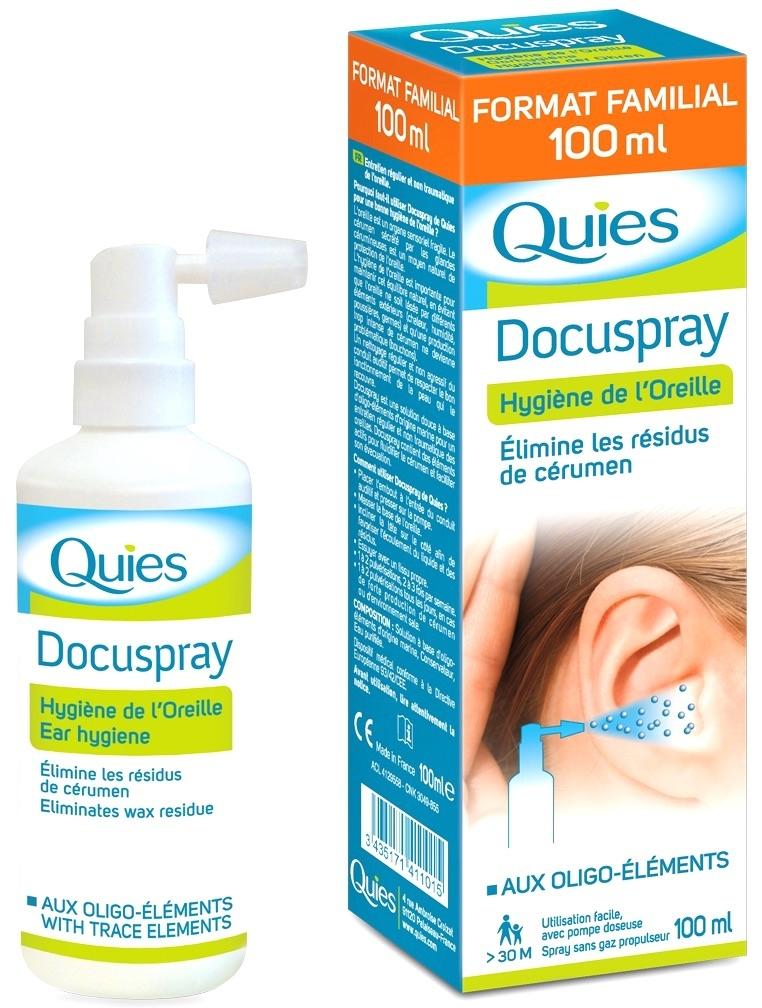 Quies Docuspray Spray Higiene Auditiva 100ml