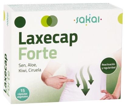 Sakai Laxecap Forte 15 cápsulas