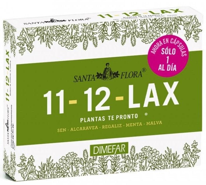 Santa Flora 11-12 Lax 30 capsulas vegetales