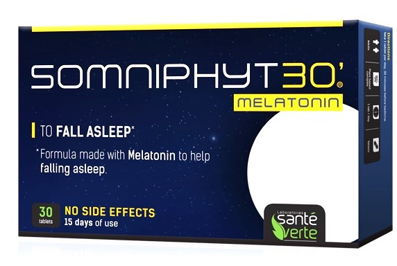 Sante Verte Somniphyt 30´ Melatonina 30 comprimidos