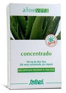 Santiveri Aloe Vera Concentrado 40 cápsulas