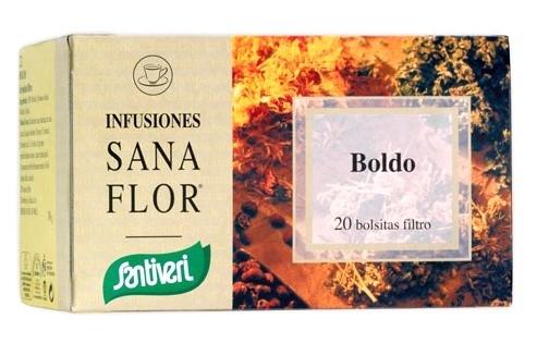 Santiveri Boldo Infusión Sanaflor 20 unidades