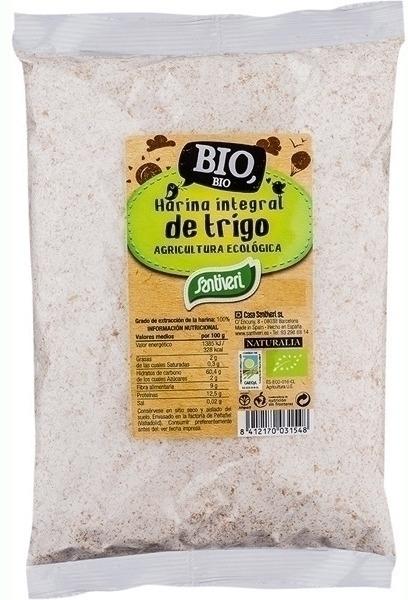 Santiveri Harina Integral de Trigo Bio 250gr