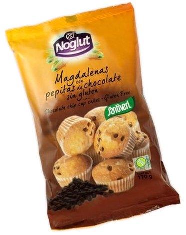 Santiveri Magdalenas con Pepitas de Chocolate Sin Gluten 170gr