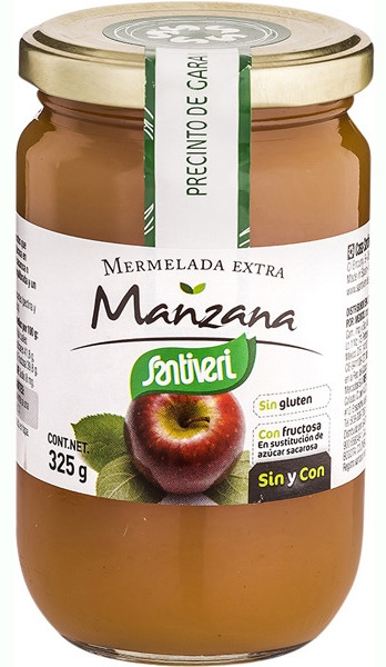 Santiveri Mermelada de Manzana Sin Azúcar 325gr
