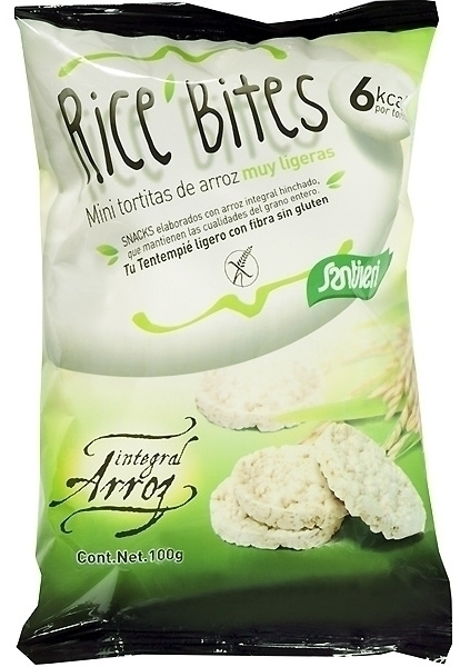 Santiveri Tortitas de Arroz Mini Rice Bites 100gr