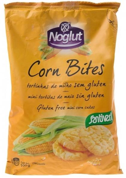 Santiveri Tortitas de Maíz Mini Corn Bites Sin Gluten 100gr