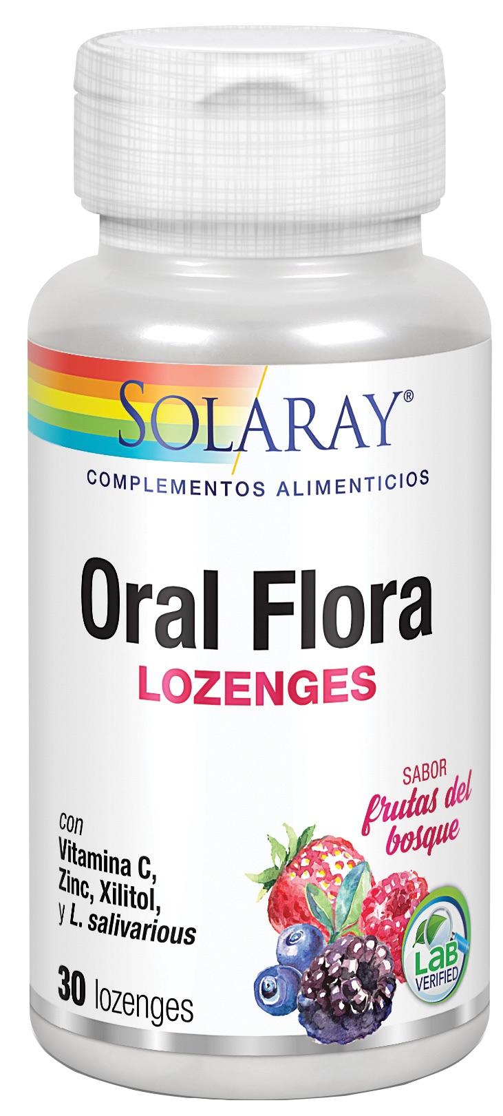 Solaray Oral Flora 30 comprimidos orosolubles