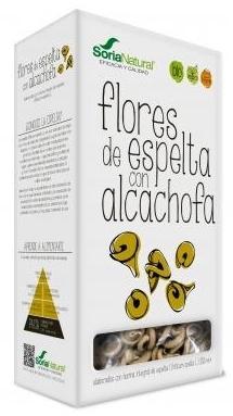Soria Natural Flores de Espelta con Alcachofa 250gr