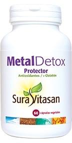 Sura Vitasan MetalDetox protector 60 cápsulas