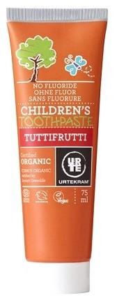 Urtekram Dentrifico Niños Tuttifrutti 75ml