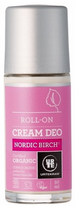 Urtekram Desodorante Abedul Nórdico Roll-On 50ml