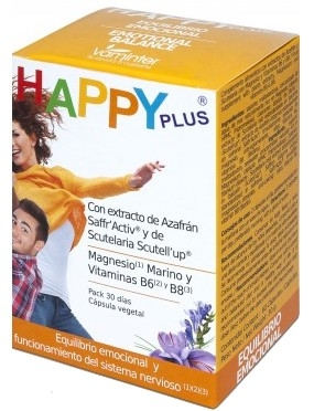 Vaminter Happy Plus 60 cápsulas