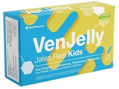 Vendrell Venjelly Kids Jalea Real 20 ampollas