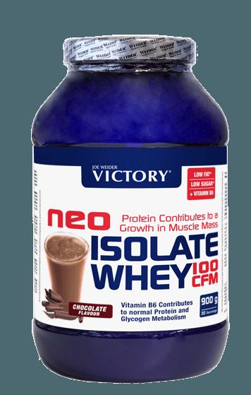 Weider Proteinas Victory Neo Isolate Sabor Fresa 900gr