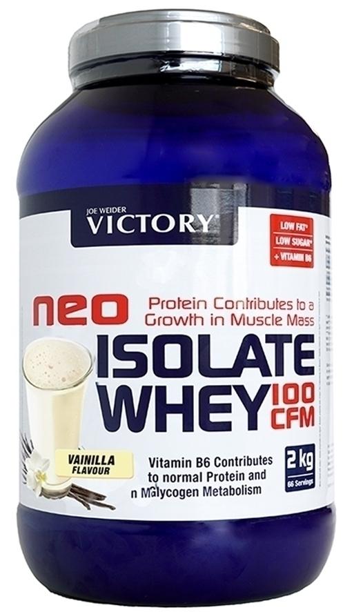 Weider Proteinas Victory Neo Isolate Sabor Vainilla 2,2kg