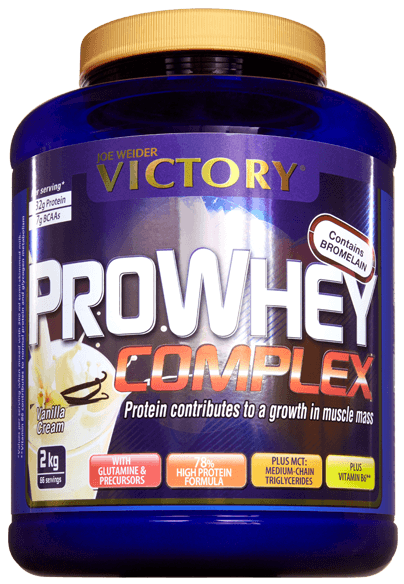 Weider Proteinas Victory Pro Whey Sabor Vainilla 2kg