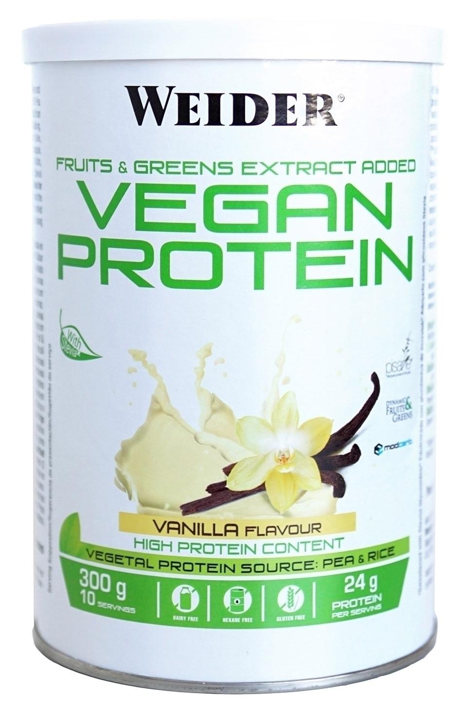 Weider Vegan Protein Sabor Vainilla 300gr