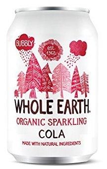 Whole Earth refresco de cola Bio 330ml 6 unidades