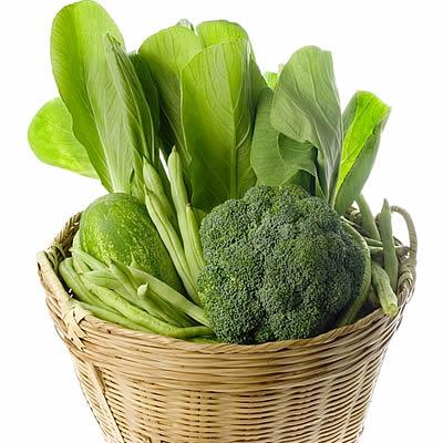 Los vegetales verdes reducen el riesgo de cáncer oral