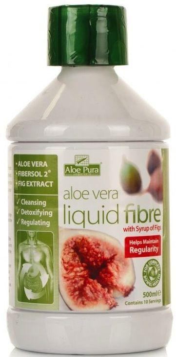 Aloe Pura Zumo Aloe Vera Fibra Liquida Higo 500ml