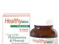 Health Aid Healthy Mega 30 comprimidos