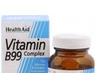Health Aid complejo de vitaminas B99 complex 60 comprimidos